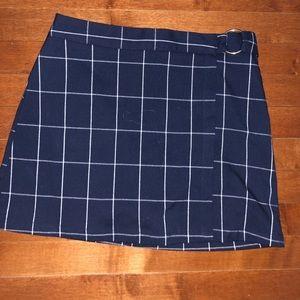 Plaid Forever 21 Mini Skirt